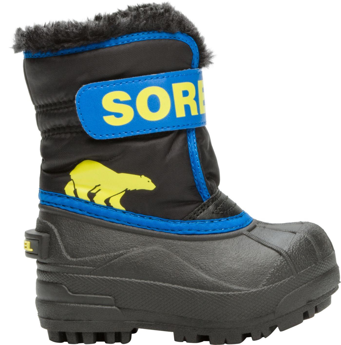 SOREL Toddler Snow Commander Winter Boots