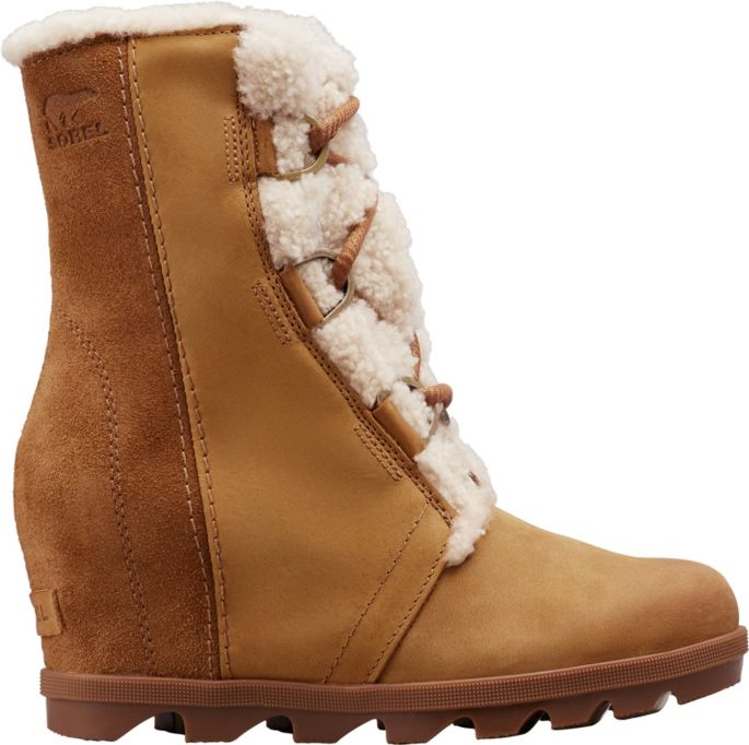 top design detailing super cheap SOREL Women's Joan of Arctic Wedge II Shearling Winter Boots ...