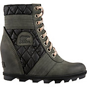 SOREL Women's Lexie Wedge Camp Casual Boots