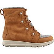 SOREL Women's Explorer Joan Felt 100g Waterproof Winter Boots
