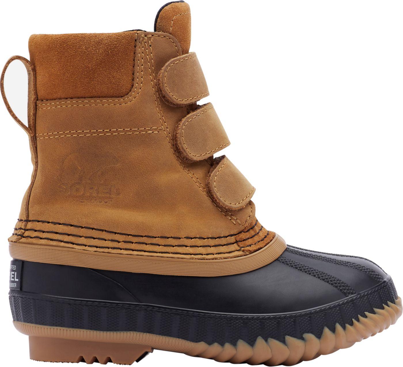 SOREL Kids' Cheyanne II Strap 200g Waterproof Winter Boots