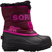 SOREL Kids' Snow Commander 200g Waterproof Winter Boots