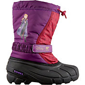 Disney x SOREL Kids' Flurry Frozen 2 Anna Insulated Waterproof Winter Boots