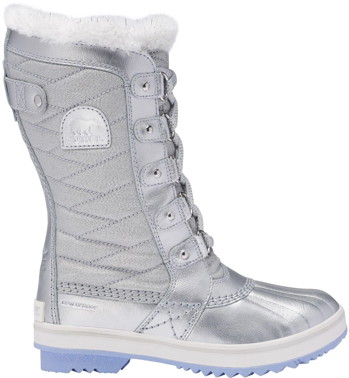 Disney x SOREL Kids' Flurry Frozen 2 Tofino Insulated Waterproof Winter Boots