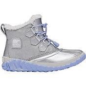Disney x SOREL Kids' Flurry Frozen 2 Out N' About Insulated Waterproof Winter Boots