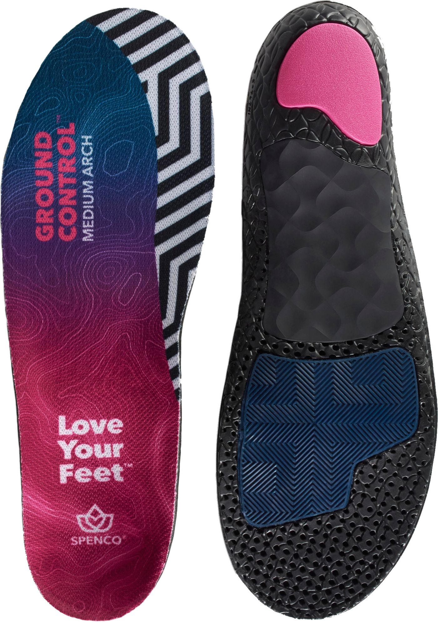 Spenco Ground Control High Arch Insoles