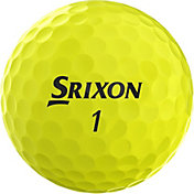 Srixon 2019 Q-STAR Yellow Personalized Golf Balls