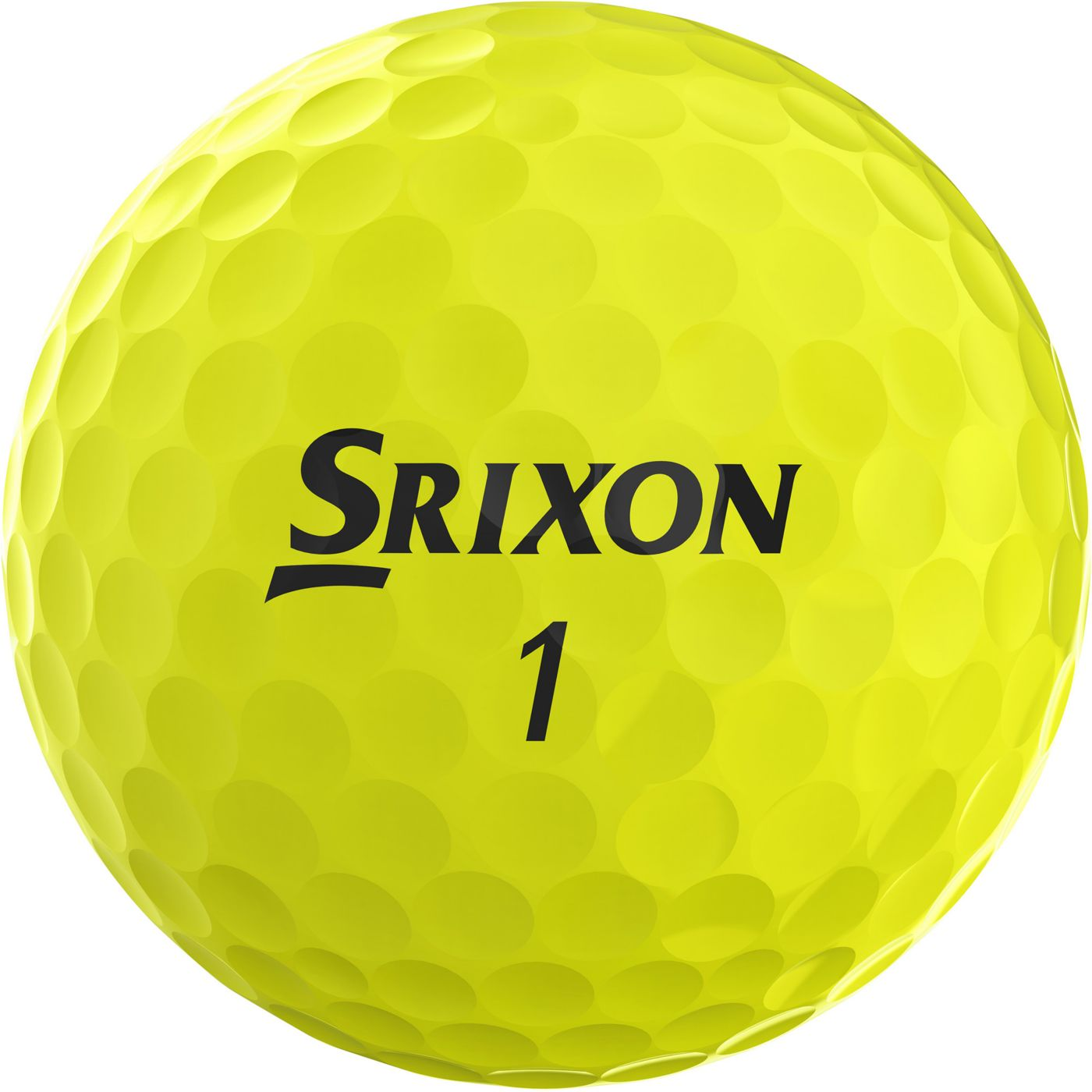 Srixon 2019 Q-STAR Yellow Golf Balls