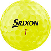 Srixon 2019 Z-STAR XV Tour Yellow Personalized Golf Balls