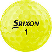 Srixon 2019 Z-STAR Tour Yellow Personalized Golf Balls