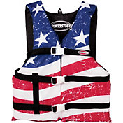 Sportsstuff Adult Stars and Stripes Universal Life Vest