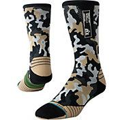 Stance Men's Smoked Camo Crew Socks