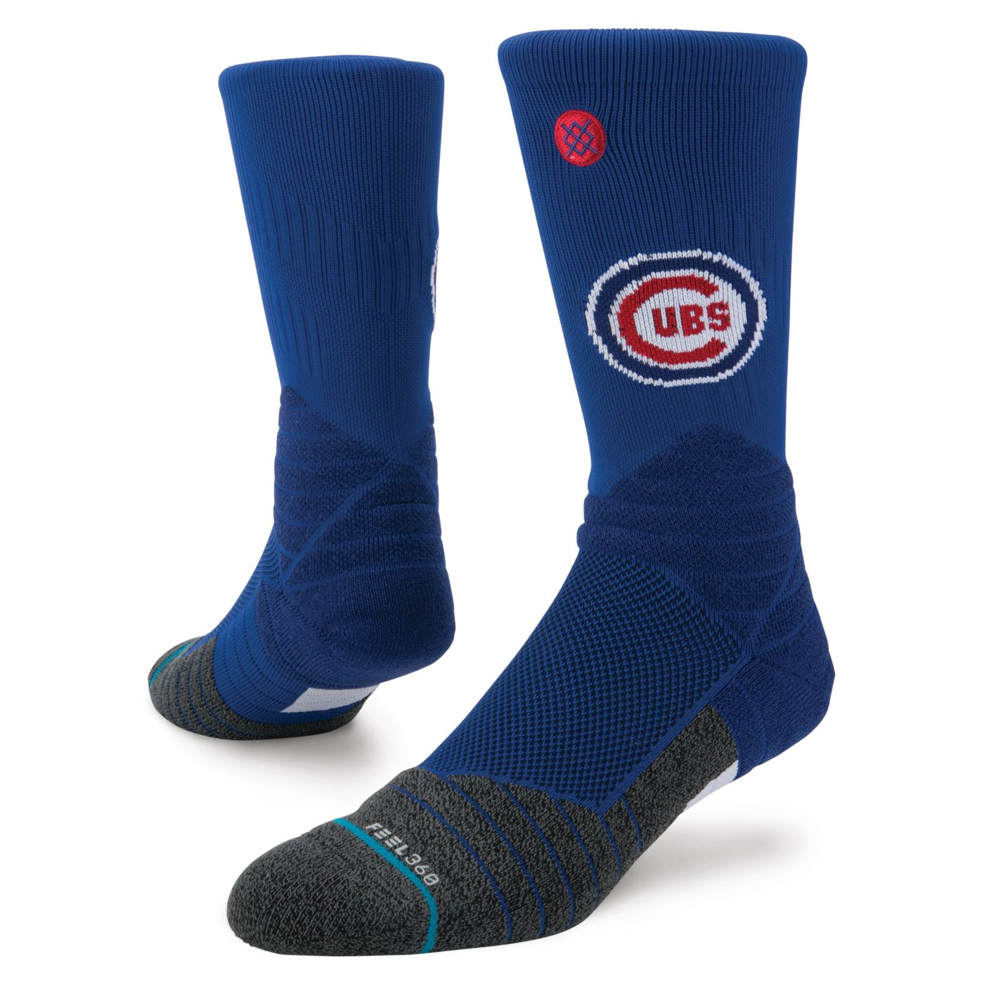 Stance Chicago Cubs Youth Diamond Pro Crew Socks