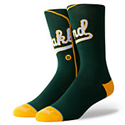 Stance Oakland Athletics Green Jersey Crew Socks