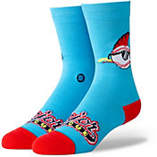 Stance Cleveland Indians Blue Youth Crew Socks