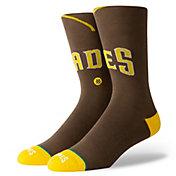 Stance San Diego Padres Brown Jersey Crew Socks