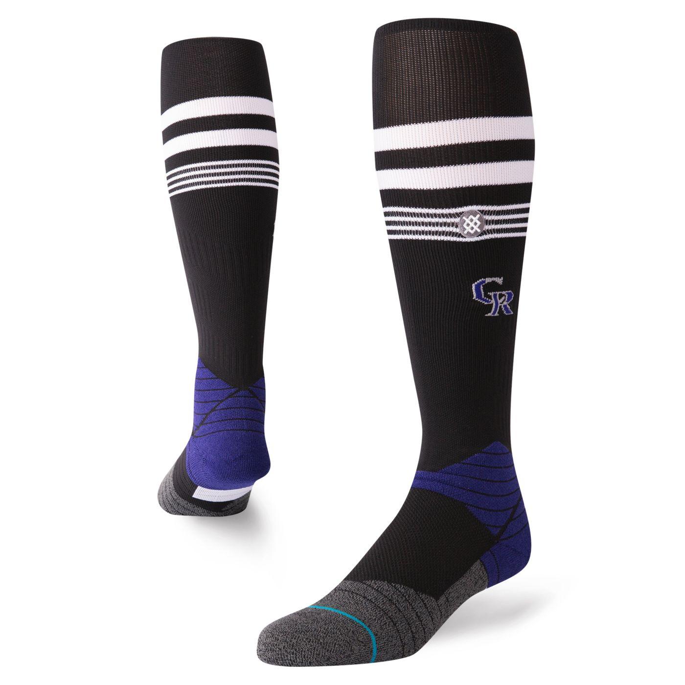 Stance Colorado Rockies Diamond Pro Crew Socks