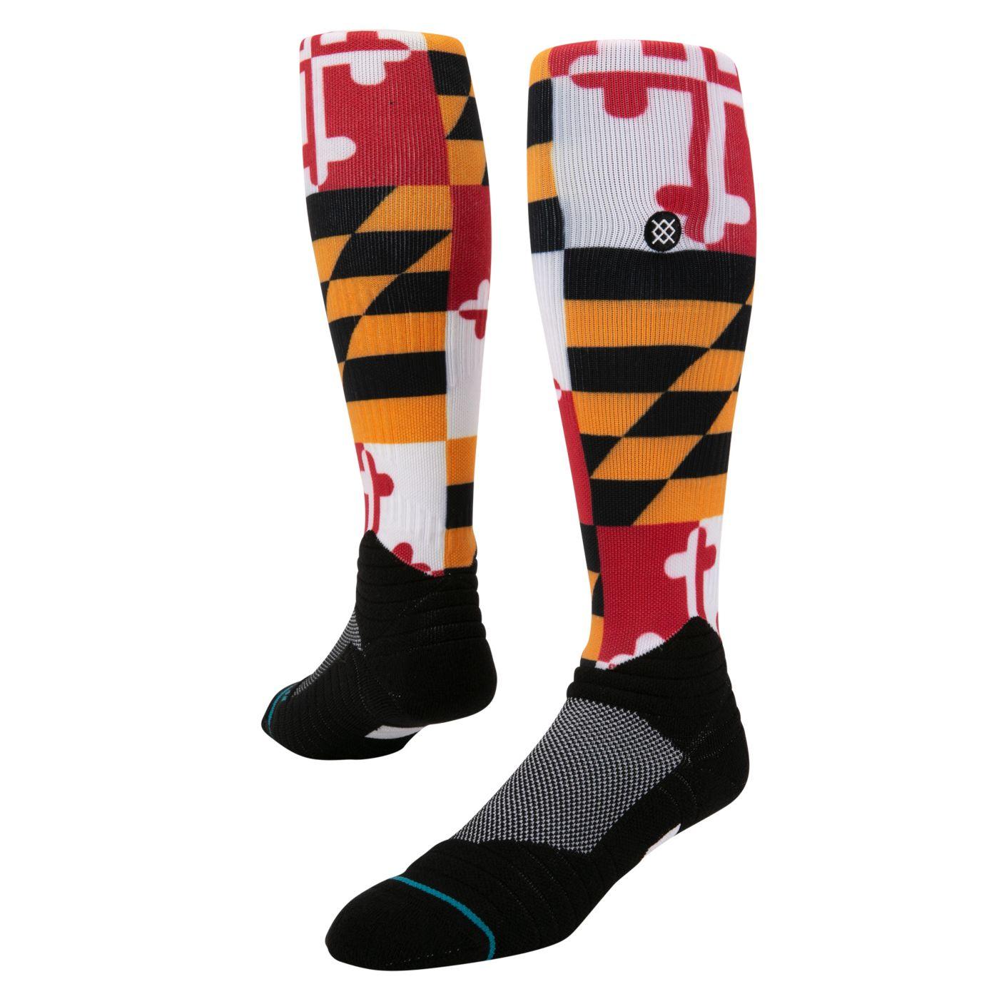 Stance Baltimore Orioles Diamond Pro Flag Socks