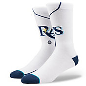 Stance Tampa Bay Rays White Home Crew Socks