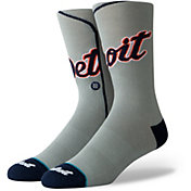 Stance Detroit Tigers Away Jersey Crew Socks