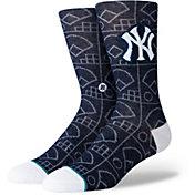 Stance New York Yankees Scorebook Jersey Crew Socks