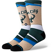 Stance Milwaukee Bucks City Edition Jersey Crew Socks