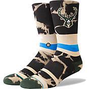 Stance Milwaukee Bucks Giannis Antetokounmpo Splatter Crew Socks ... 9e0e9bf85