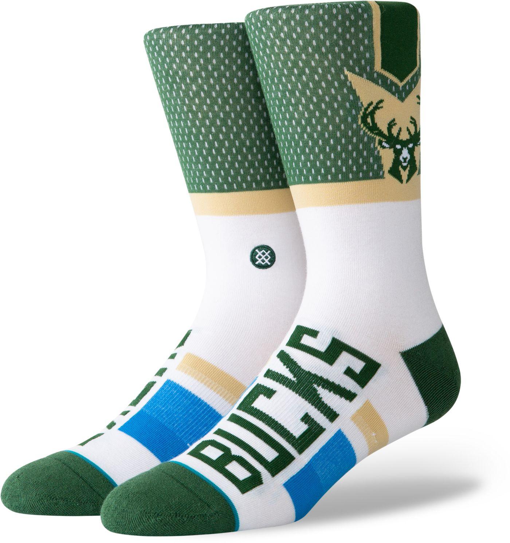 Stance Milwaukee Bucks Men's Shortcut Crew Socks