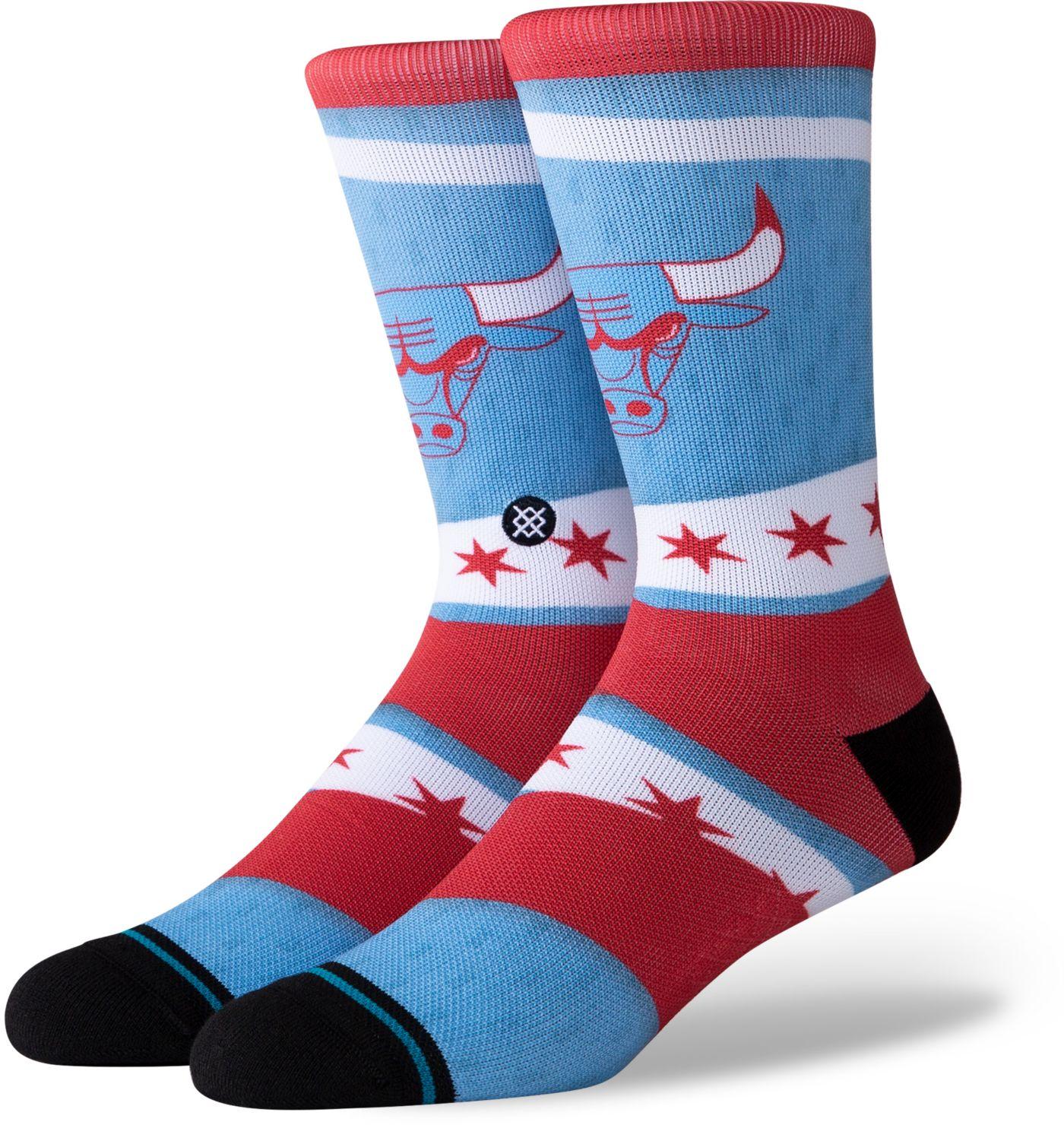 Stance Chicago Bulls City Edition Jersey Crew Socks