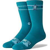Stance All Star Game Teal Logo Socks
