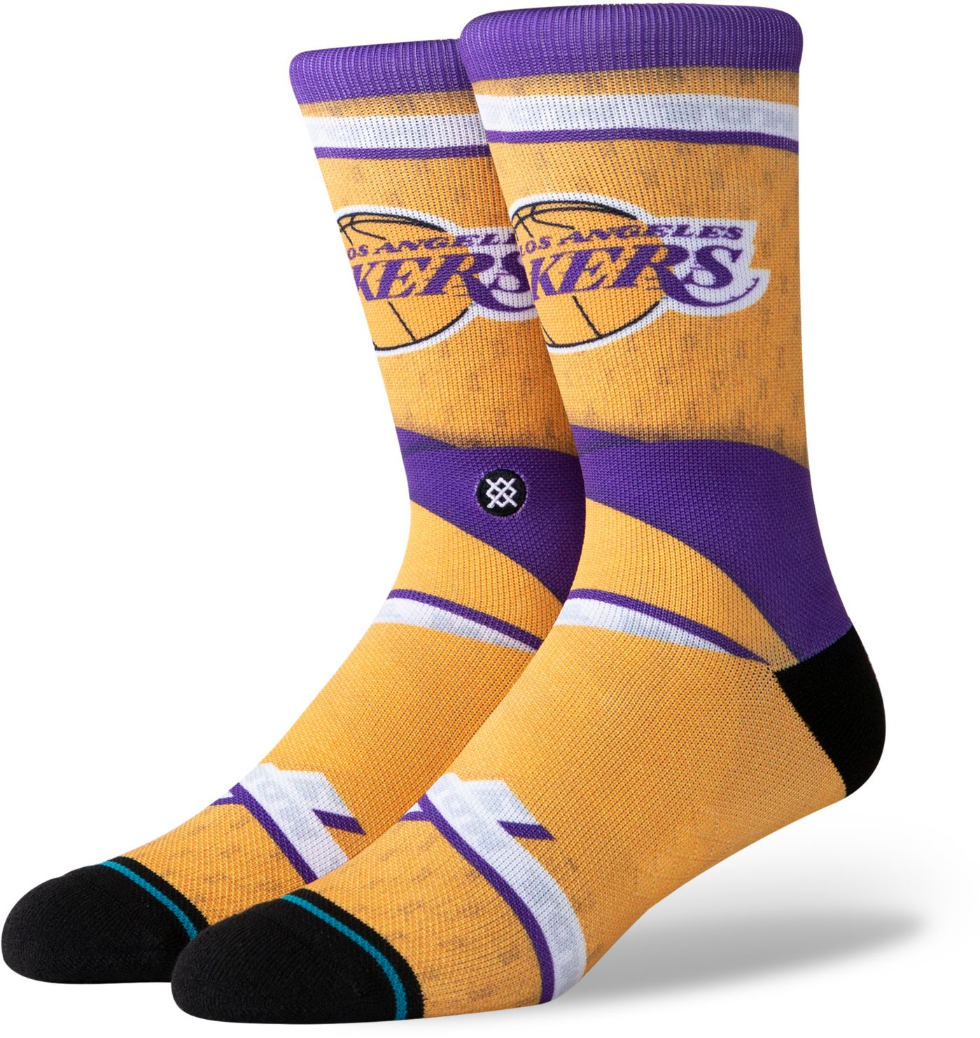 Stance Los Angeles Lakers City Edition Jersey Crew Socks