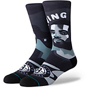 Stance Men's Brooklyn Nets Kyrie Irving Mosaic Crew Socks