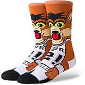 Stance Men's San Antonio Spurs Coyote Crew Socks