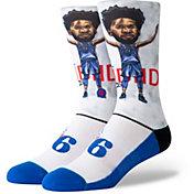 Stance Men's Philadelphia 76ers Joel Embiid Big Head Socks