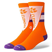 Stance Men's Clemson Tigers Orange Pennant Socks