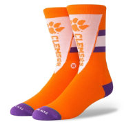 Stance Clemson Tigers Orange Pennant Socks