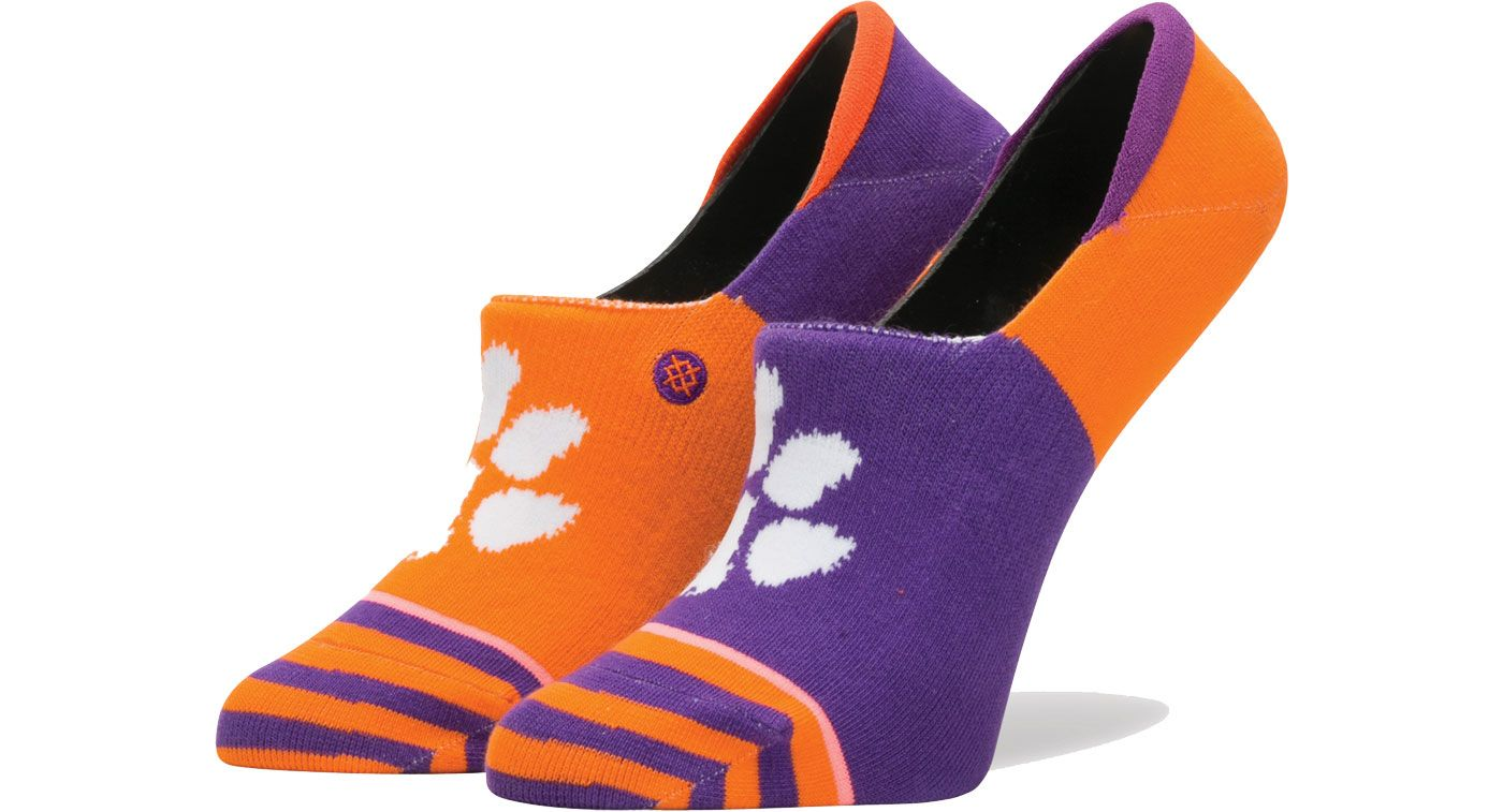 Stance Clemson Tigers Women's Invisible Ankle Socks