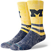 Stance Men's Michigan Wolverines Retro Socks