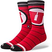 Stance Utah Utes Logo Crew Socks