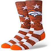 Stance Men's Denver Broncos Banner Socks
