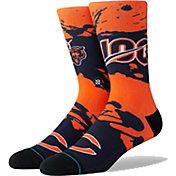 Stance Men's Chicago Bears 100th Anniversary Jersey Crew Socks
