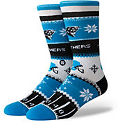Stance Carolina Panthers Sweater Socks