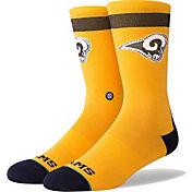 Stance Men's Los Angeles Rams Yellow Socks