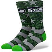Stance Men's Seattle Seahawks Banner Socks