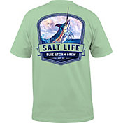 Salt Life Men's Blue Storm Brew Pocket T-Shirt