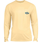 Salt Life Men's Chasing Tail Performance Long Sleeve Shirt