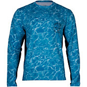 Salt Life Men's Calm Waters Performance Long Sleeve Shirt