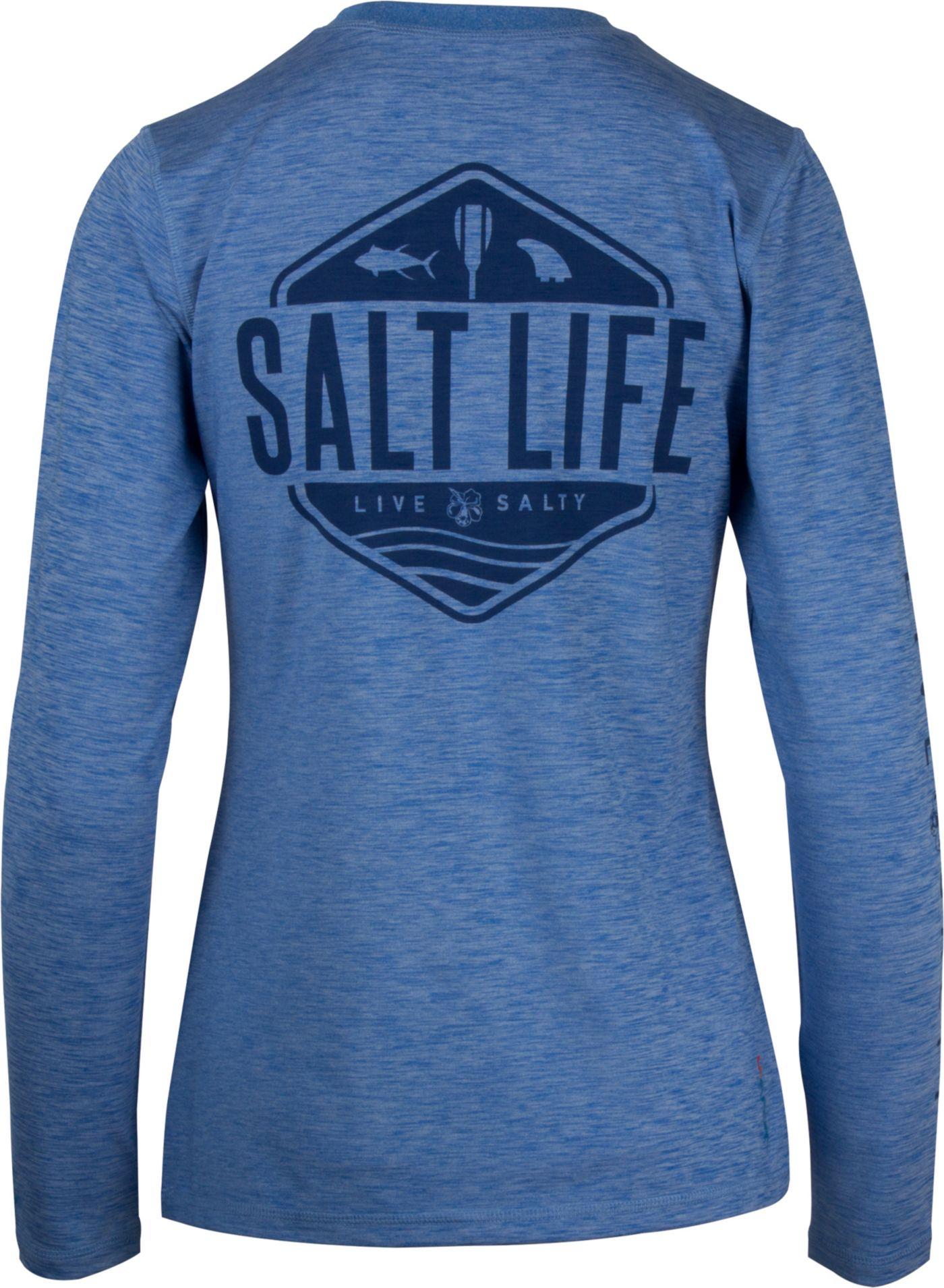 Salt Life Women's Fish Paddle Board Long Sleeve Shirt