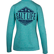 Salt Life Women's Fish Paddle Board Long Sleeve Shirt