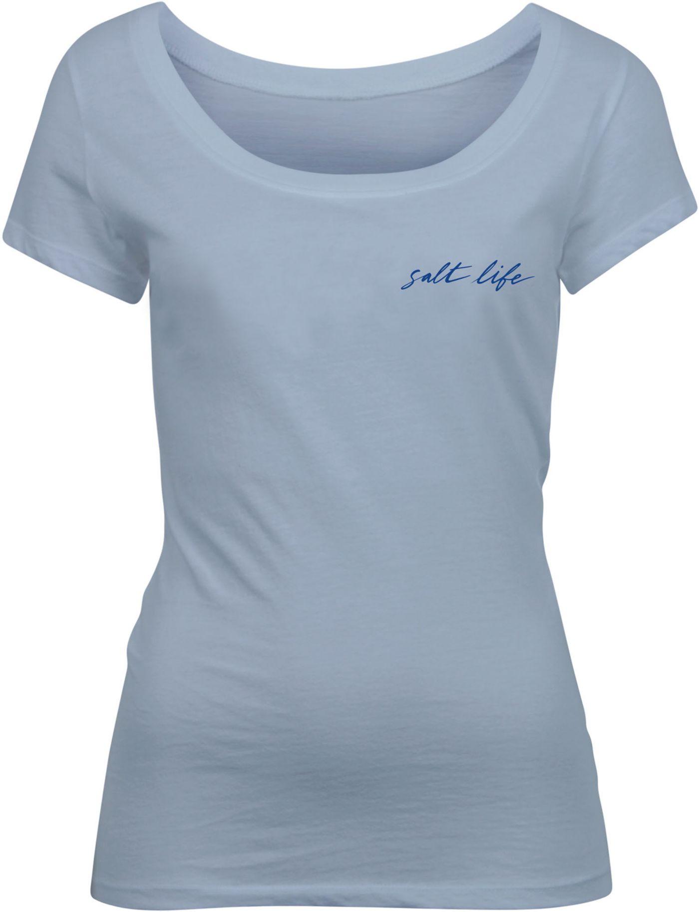 Salt Life Women's Good Times Scoop Neck T-Shirt